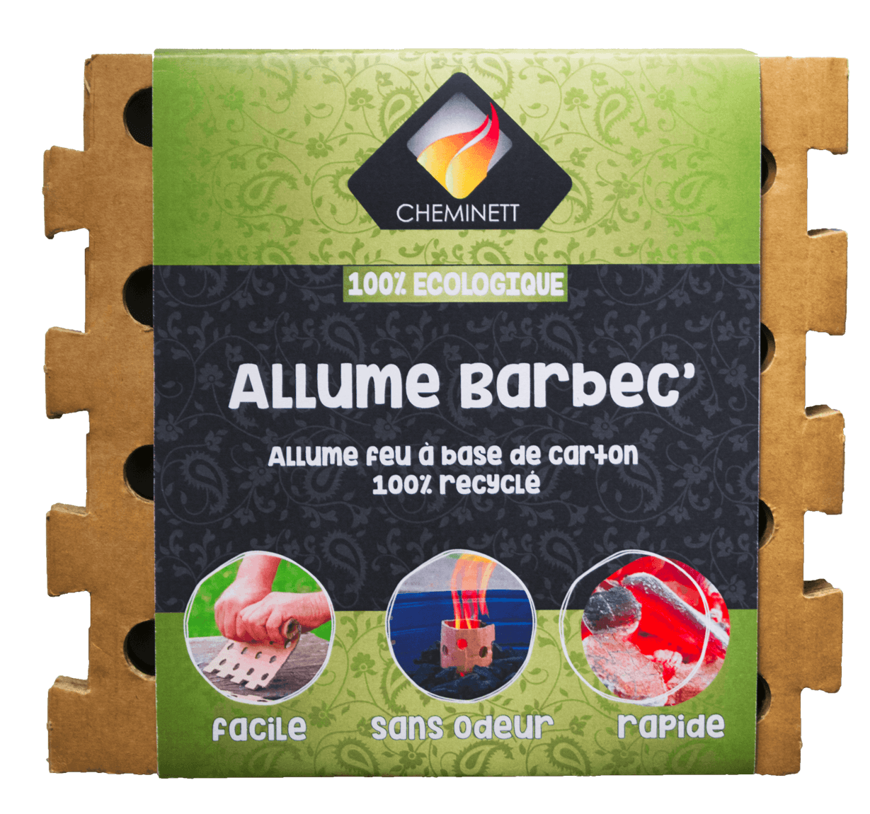 Barbec' light Ecological 100%